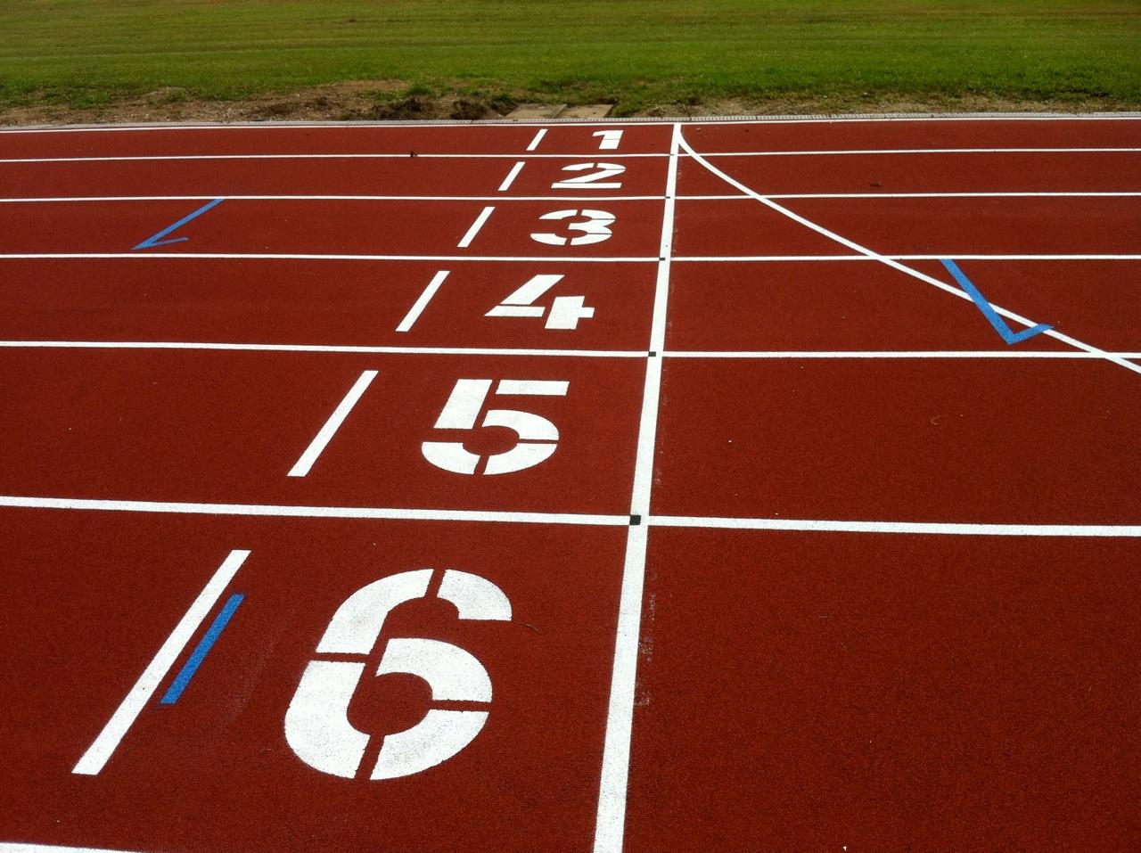Journée d'athlétisme
